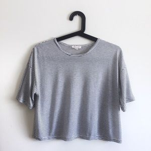 UO Silence and Noise Cropped Cali Tee